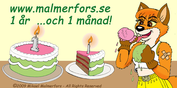 www.malmerfors.se - 1 year and 1 month on the Internet!
