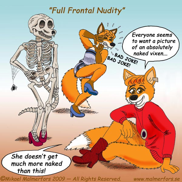 """Full Frontal Nudity!"""
